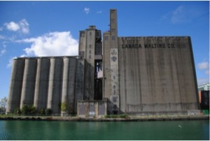 Figure 3: Canada Malting site, prior to demolition. BlogTO.
