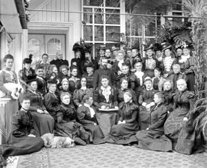 Members of the National Council of Women of Canada at Rideau Hall, 1898