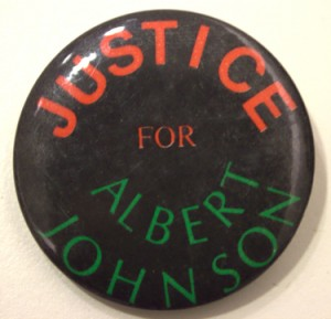 Justice for Albert Johnson. Clara Thomas Archives.