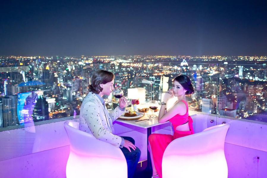 Dinner at Baiyoke Sky Restaurant
