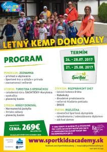 LETNý KEMP DONOVALY @ Donovaly | Donovaly | Slovensko