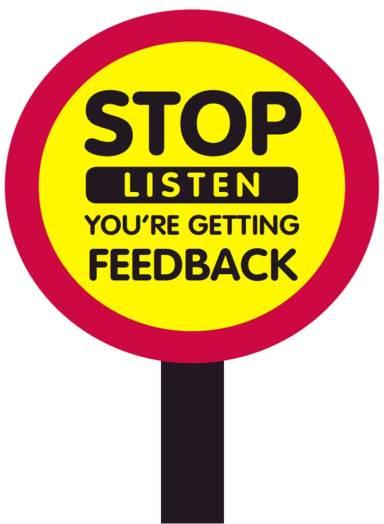 Stop-Feedback