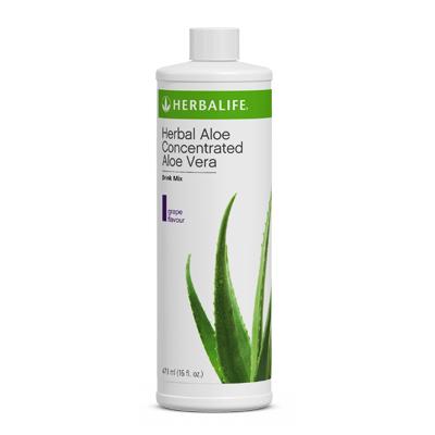 Herbal Aloe Concentrated Aloe Vera - Grape Flavour