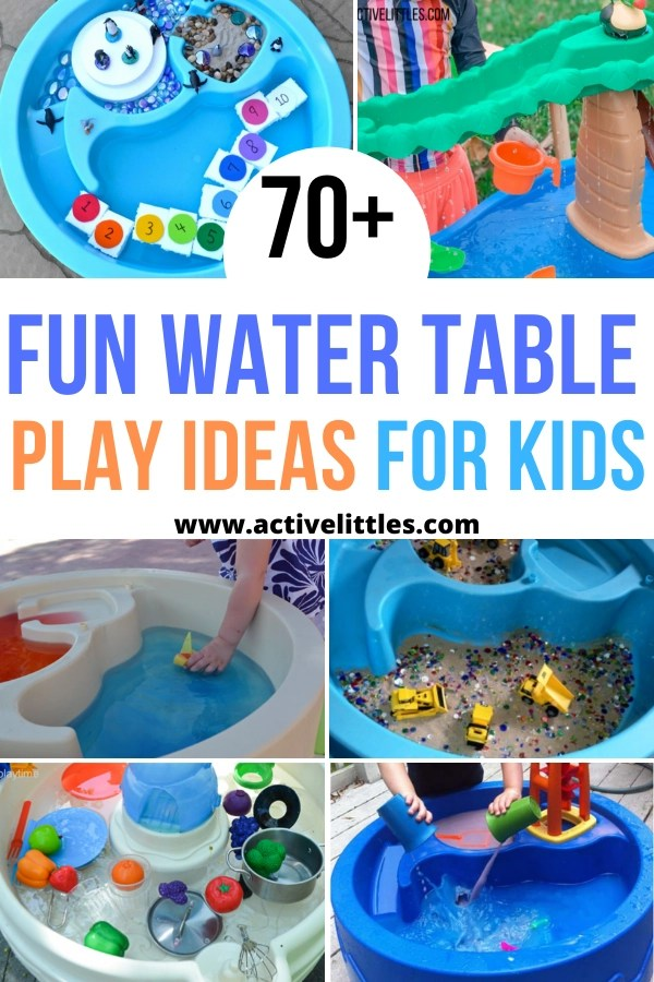 70 Fun Water Table Play Ideas For Kids Best Water Tables Active Littles