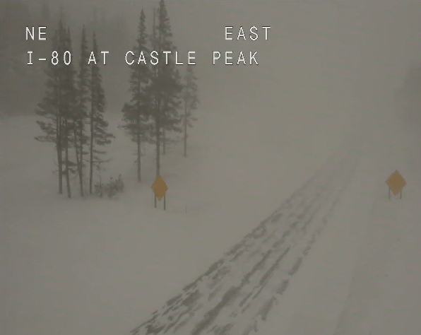 See the Treacherous Road Conditions All Around Northern California