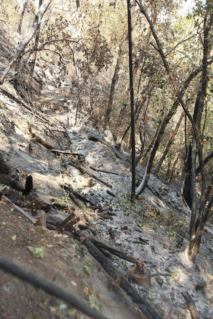Historic Independence Trail Destroyed in Northern ...