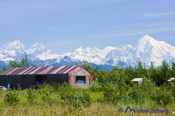 Dry Bay and Mt. Fairweather, Alaska
