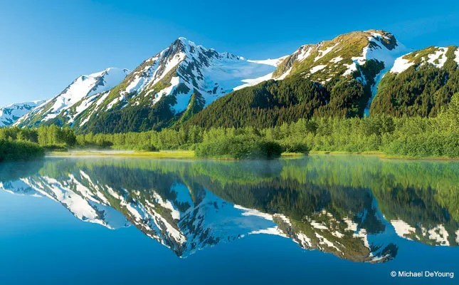 "DeYoung Featured In Jan/Feb 2013 Issue of Outdoor Photographer: ""Chugach Adventure"""