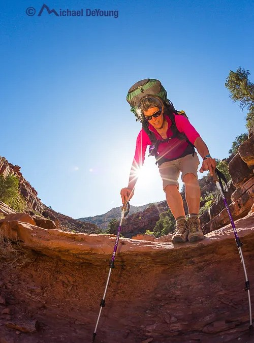 New Work:  Grand Canyon National Park Backpacking Adventure