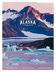 2019 Alaska State Vacation Planner Cover by photographer Michael DeYoung
