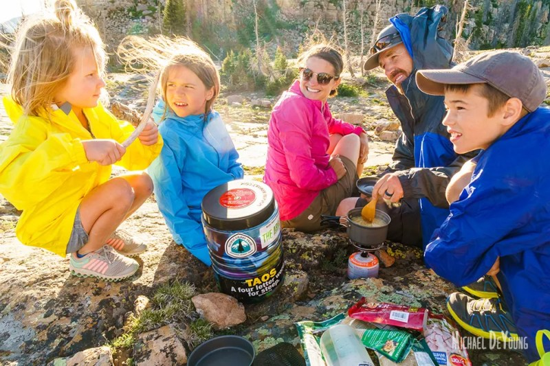 Family lifestyle - Backpacking in Uinta Mountains in Utah by Michael DeYoung