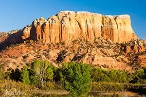 Redrock cliffs at Ghost Ranch