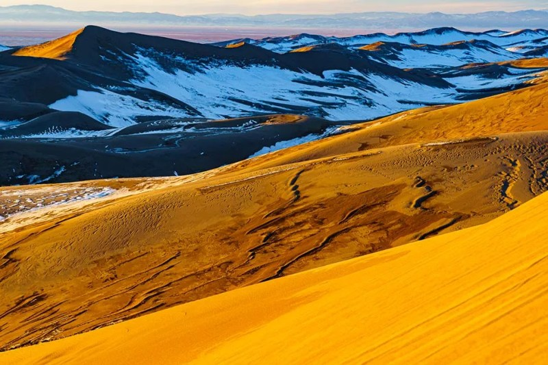 Backcountry landscape from Great Sand Dunes National Park. © Michael DeYoung