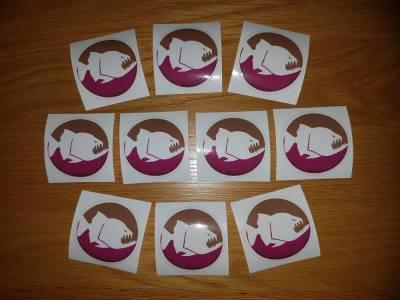 Active Piranha Free Sticker