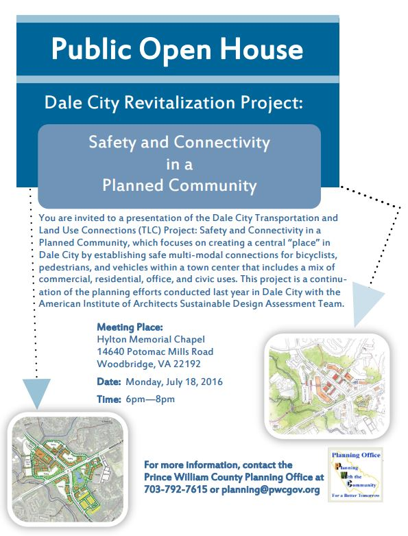 Dale City Revitalization Public Meeting Announcement
