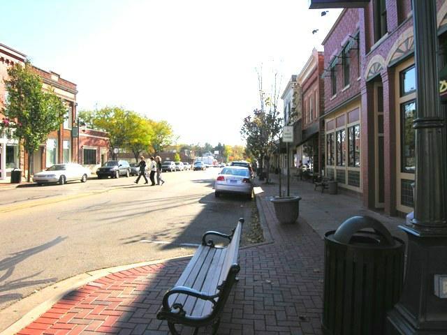 Rockford MI downtown