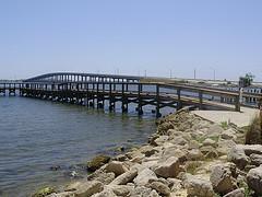 Eau Gallie Causeway in Melbourne Florida