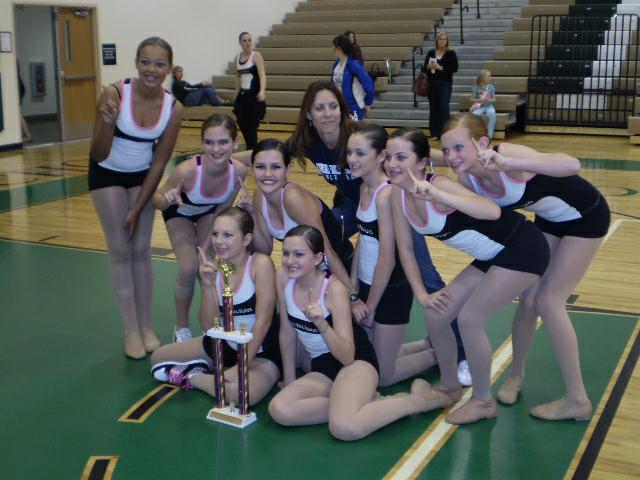 West Shore Junior Senior High JV Dance Team
