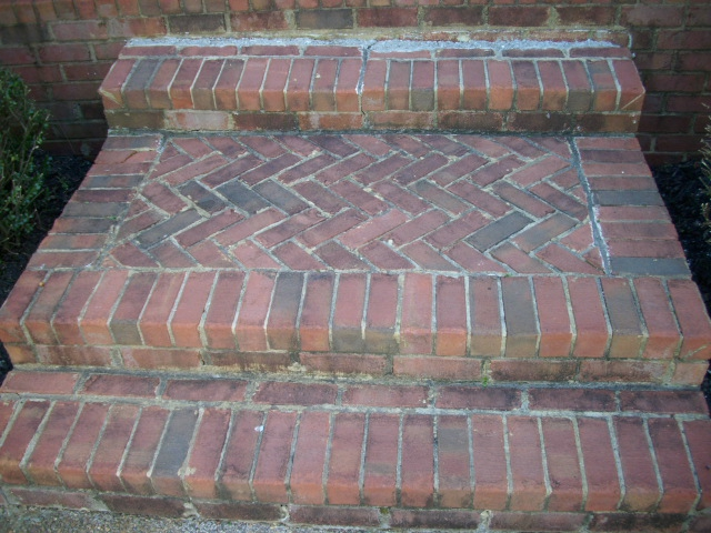 Deteriorated Front Steps