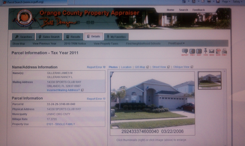 Orange county property appraiser