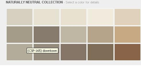 Benjamin Moore Naturally Neutral Collection