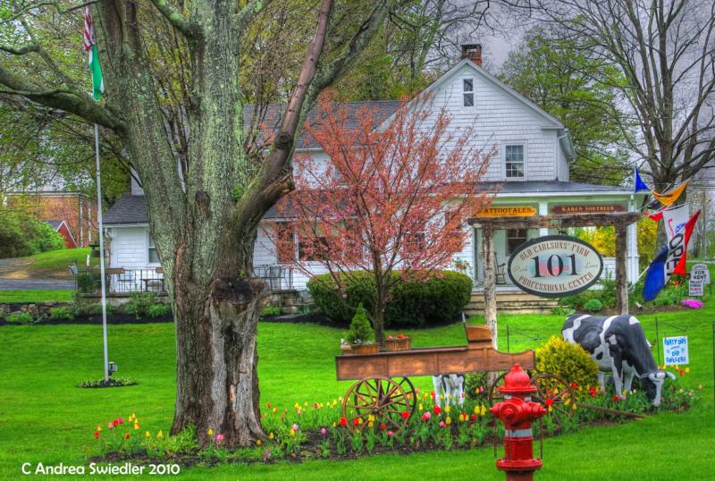 Spring in New Milford CT