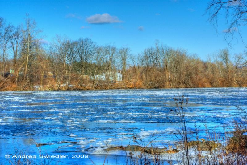 The Housatonic River in Winter