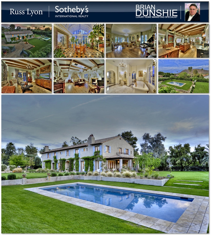 Authentic French Country Arcadia Residence Offered for Sale