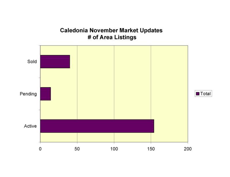 Caledonia MI real estate market report 11-08