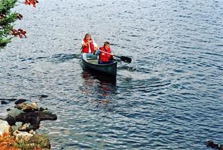 Ten Mile Lake canoeing