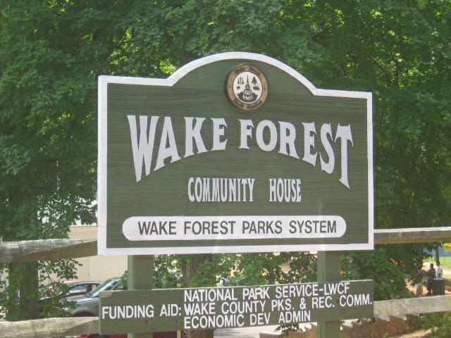 Wake Forest NC Community House
