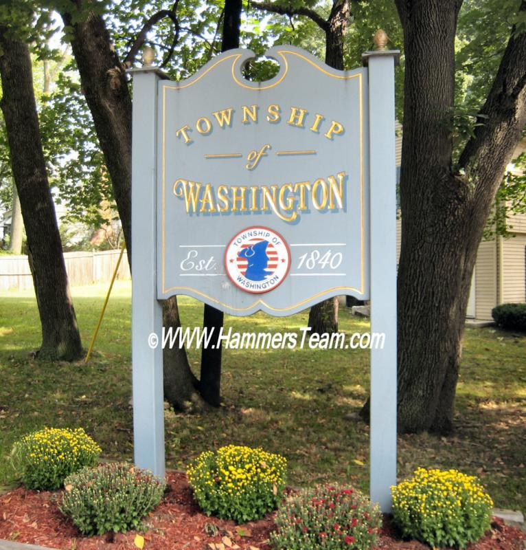 Washington Township, NJ Sign Photo