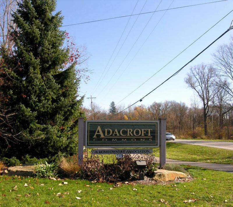 Adacroft Commons Entrance Ada MI 49301