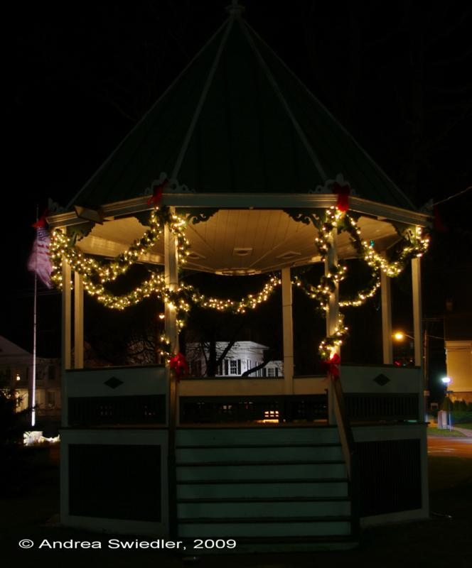New Milford CT Bandstand