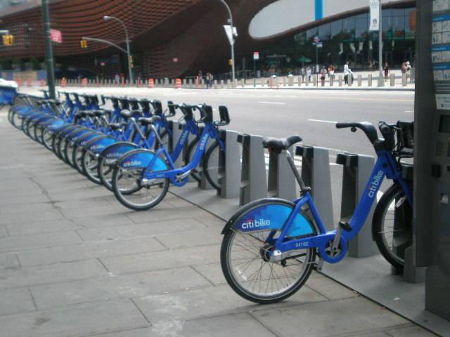 citi bikes in brooklyn