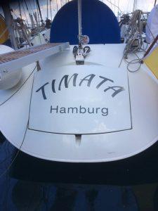 Ausbildungsyacht TIMATA getauft!