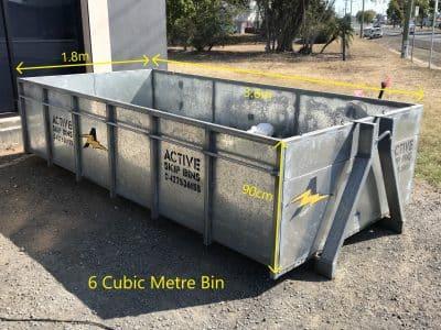 6 Cubic Metre Bin