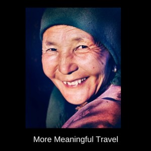 More meaningful travel