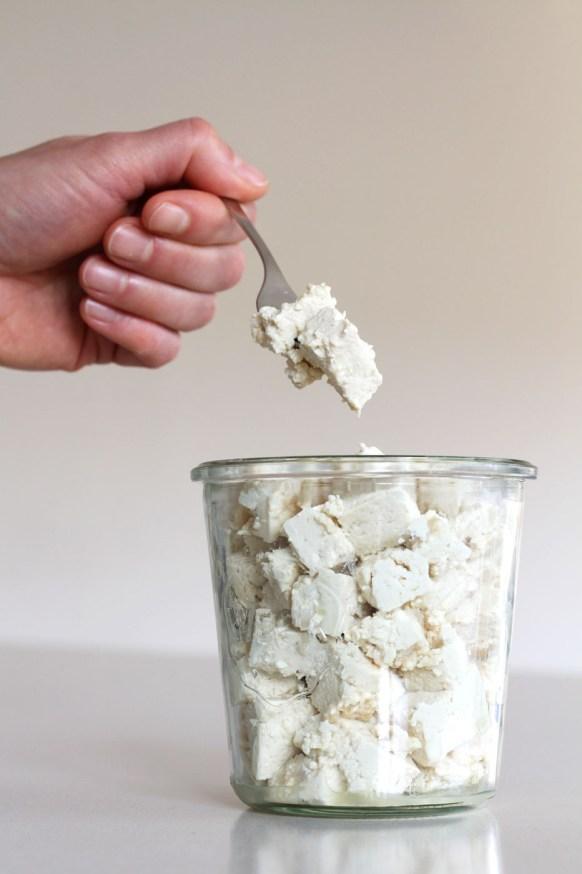 Easy Vegan Feta Cheese Recipe