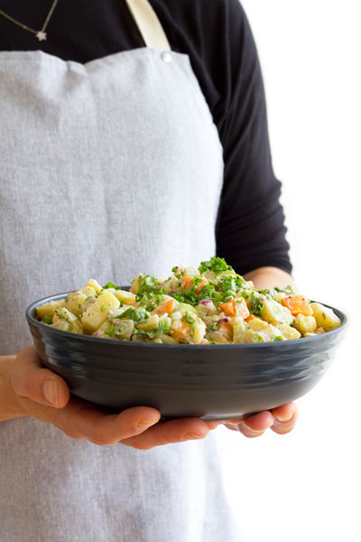 Vegan Czech Potato Salad Recipe