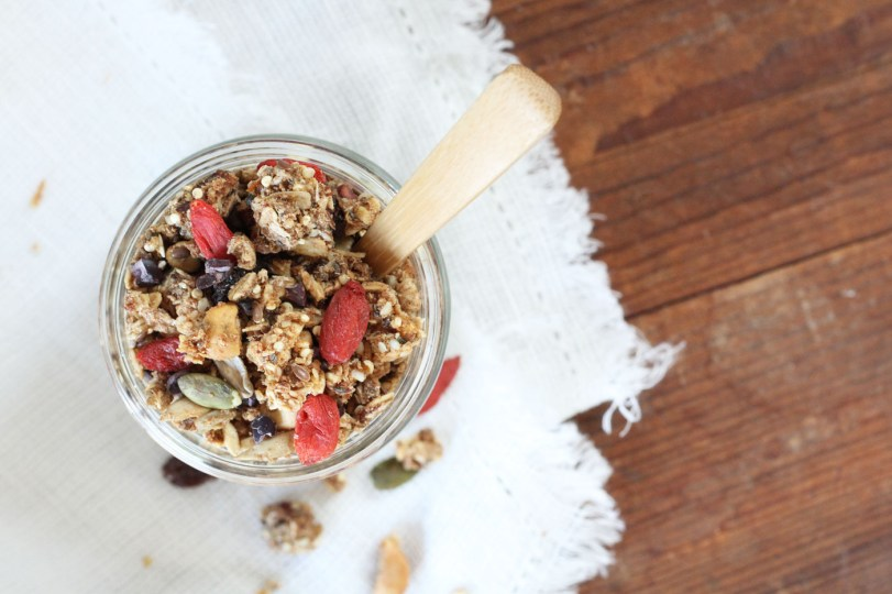 easy oil free vegan granola recipe