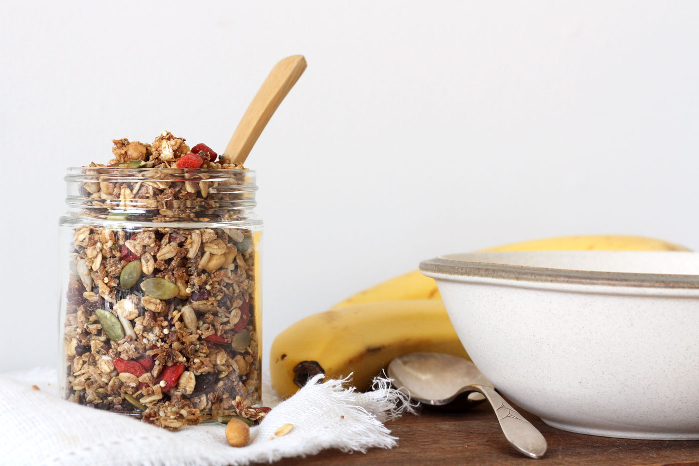 Easy Vegan Granola Oil Free Active Vegetarian