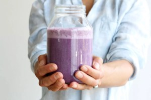 Wild Blueberry Almond Milk by active vegetarian