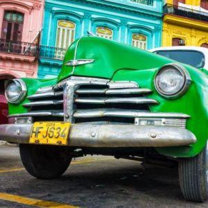 Samochód w Havanie