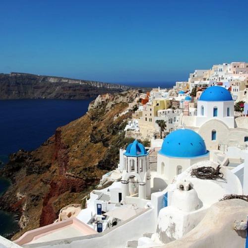 santorini grecja wyspa