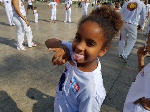 capoeira dziewczynka