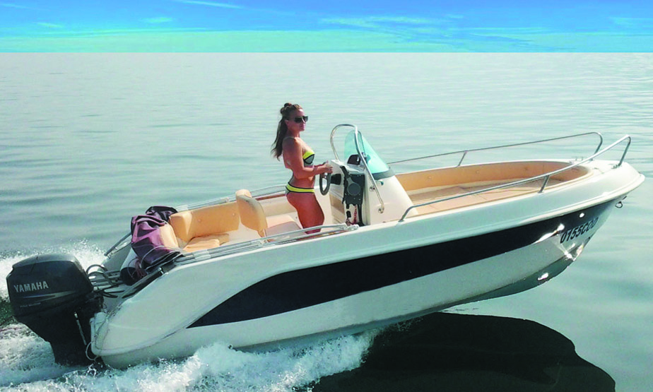 Rent a boat without license Cabo Roig