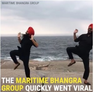 Daily Dose of Happy: Maritime Bhangra Group