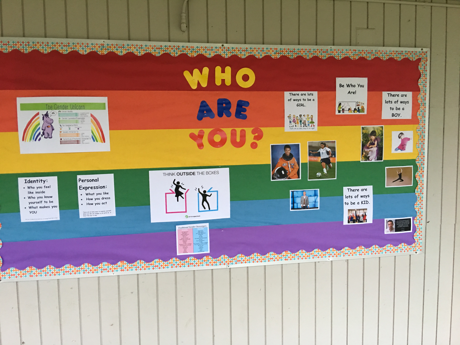 Shameful Grade School Promotes Gender Identity Using