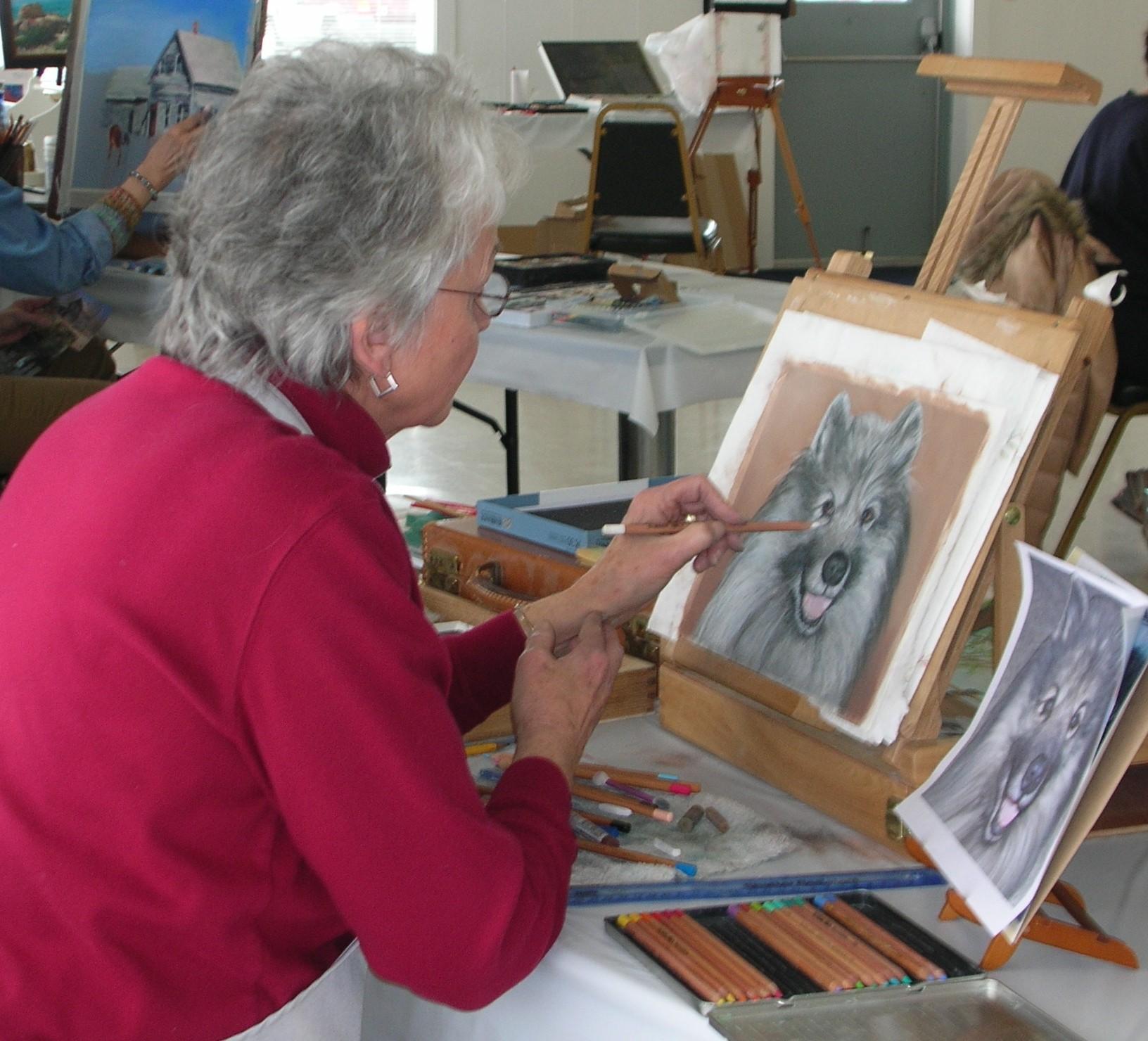 Indoor Activities For Seniors Senior Painting